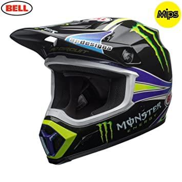 7091716 - Bell MX-9 Mips Monster Pro Circuit Replica Motocross Helmet XXL Black Green