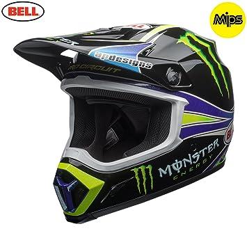 7091716 - Bell MX-9 Mips Monster Pro Circuit Replica Motocross Helmet XXL Black Green