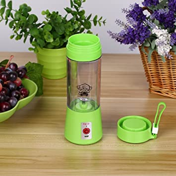 ulable 380 ml USB eléctrico exprimidor de fruta Manual Batidora smoothie Maker Blender Juice taza: Amazon.es: Electrónica