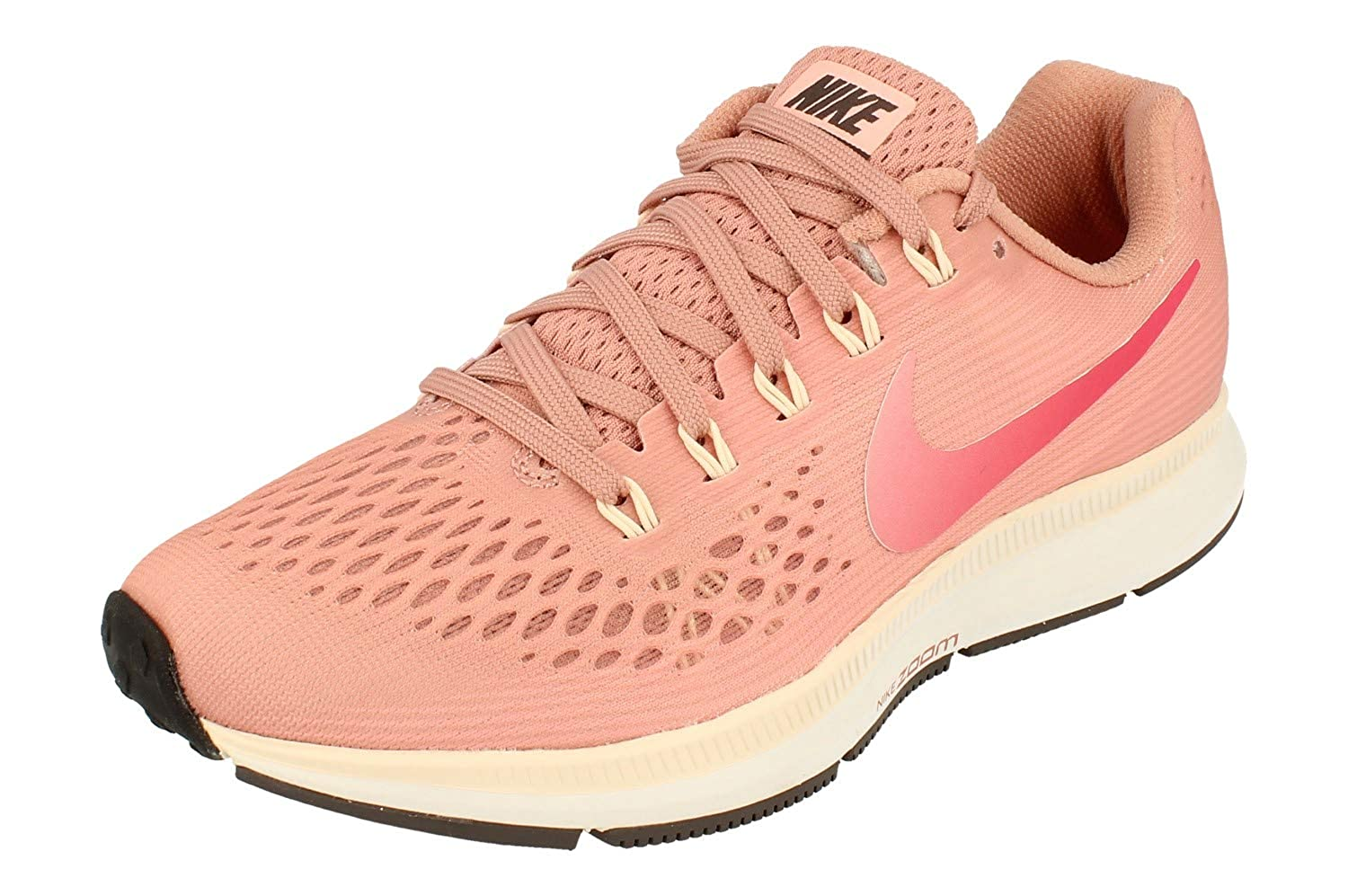 Rust rose Tropical rose 606 Nike Air Zoom Pegasus 34, Chaussures de Running Femme 38 EU