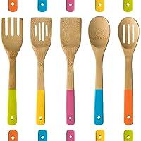 5 piezas de mango de madera de cocina