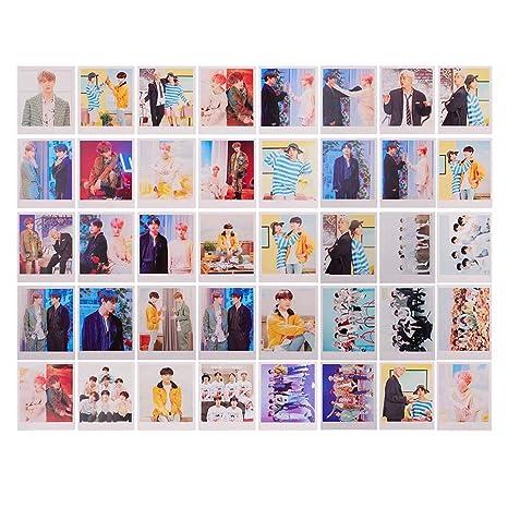 GOTH Perhk 30pcs//Set Kpop BTS Collective Bangtan Boys Photocard Poster Album Poster Photo Postcard Lomo Cards Set Collective Cards Gift for BTS Army BTS Persona