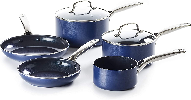 Aluminium Blue Diamond CC002252-001 Non-Stick 20 cm Frying Pan