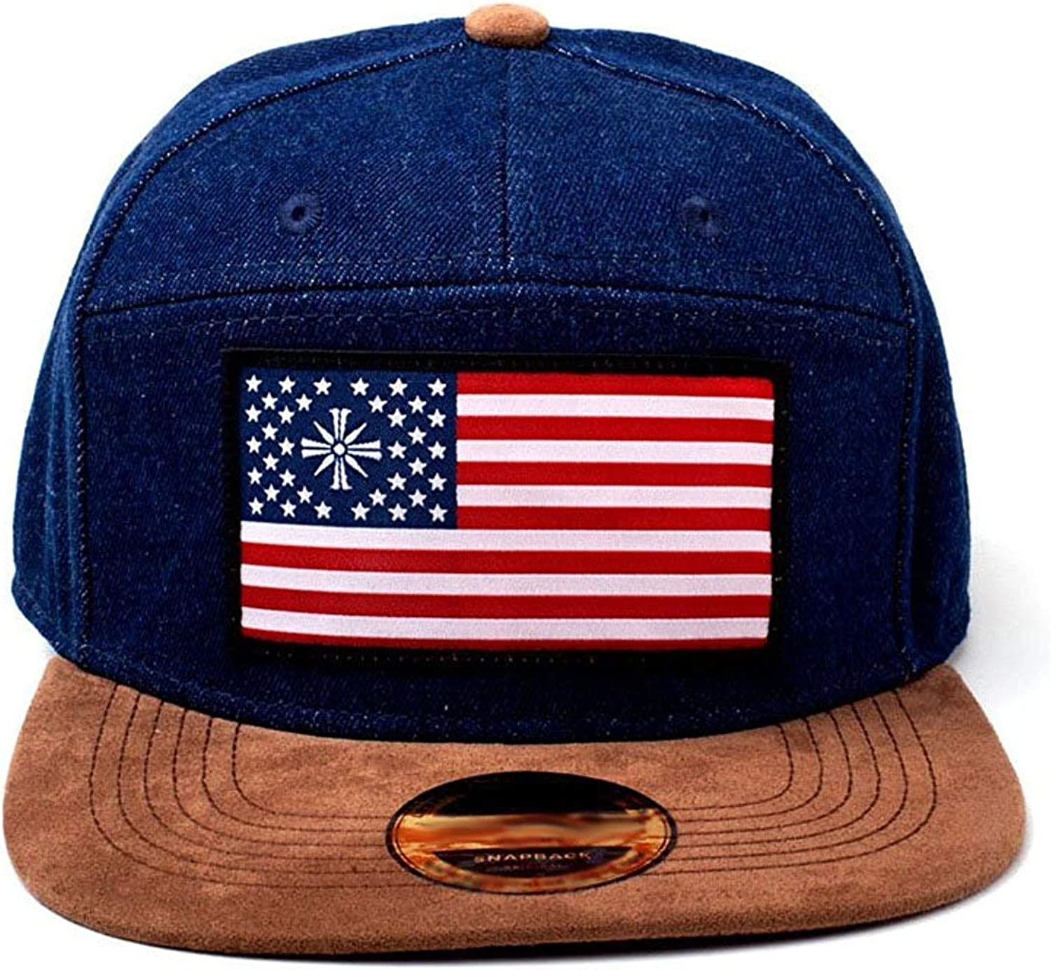 Bioworld Far Cry 5 American Flag Denim Snapback Baseball Cap Blue Blue Blue One Size Amazon Co Uk Clothing