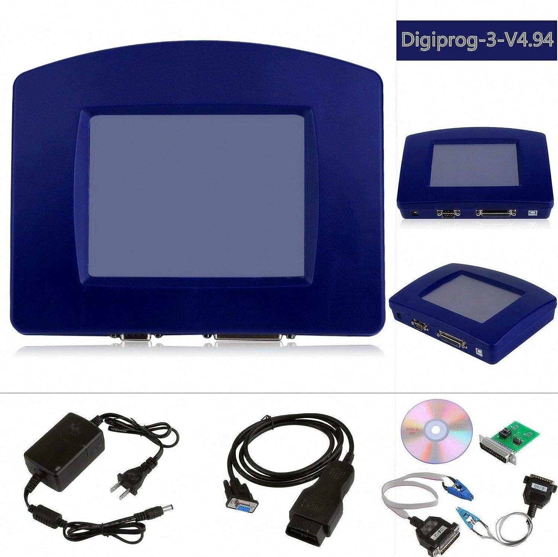 color tree Strumento Diagnostica Auto OBD 2 Contachilometri digi Prog III Digiprog 3 V4.94 per Tutti i Motori