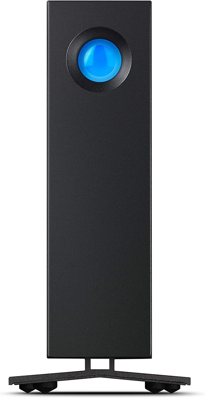 LaCie d2 Professional 14 TB External Hard Drive Desktop HDD – Thunderbolt 3 USB-C USB 3.0, 7,200 RPM Enterprise Class Drives, for Mac and PC, 1 Month Adobe CC (STHA14000800)
