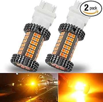 1157 Error Free Canbus Ready Dual Color Switchback LED Turn Signal Light Bulbs DRL Parking Lamp No Hyper Flash All in One Syneticusa