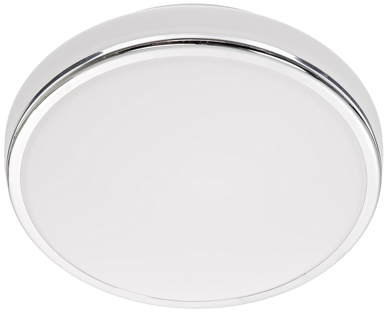 DVI Lighting DVP7252CH-OP Flush Mount with Opal Glass Shades Chrome Finish