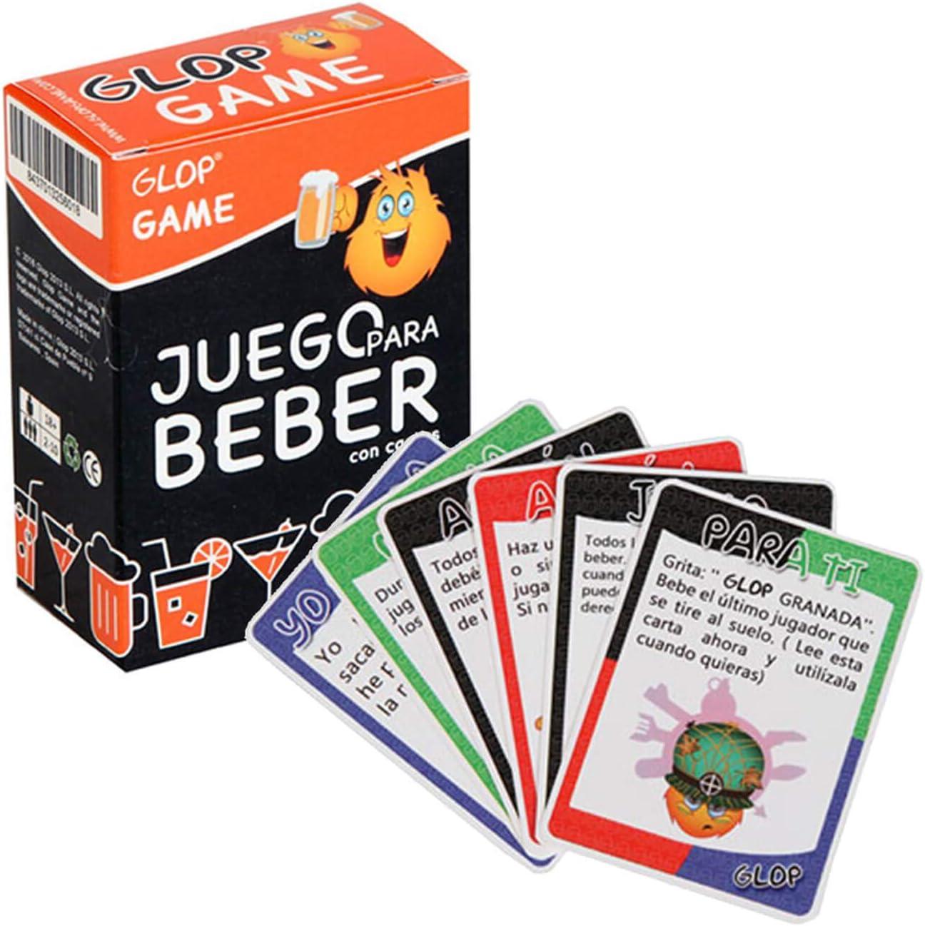 Glop Game - Juego Para Beber - Juego de Mesa para Fiestas con ...