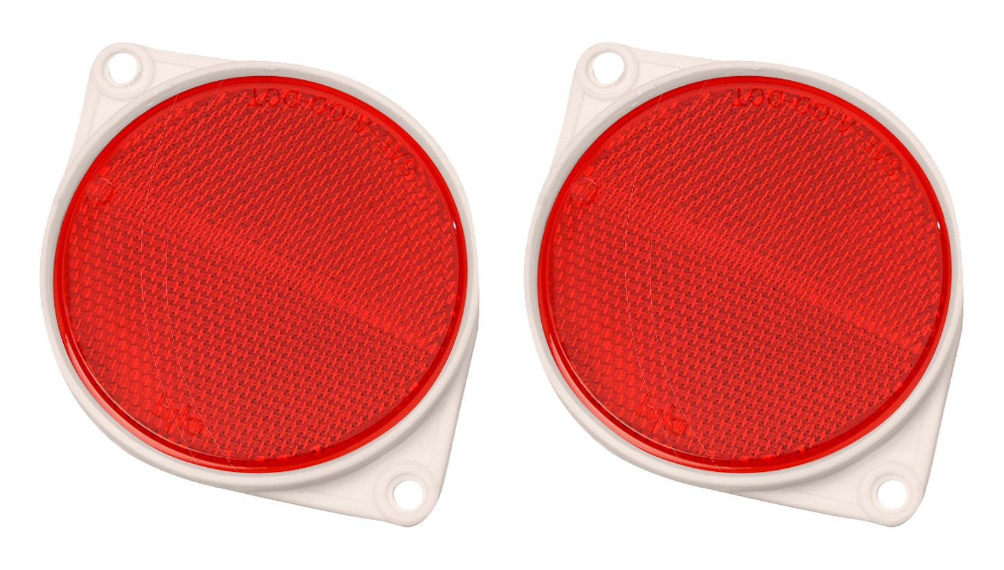 Hy-Ko Products CDRF-3R Nail On Reflector 3'' Diameter Red, 1 Piece by Hy-Ko Products (Image #1)