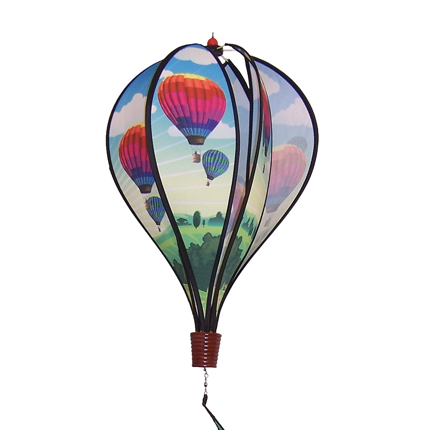 In the Breeze Hot Air Balloon 6-Panel Kinetic Hot Air Balloon Wind Spinner