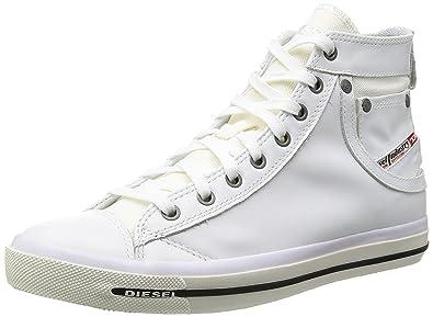 f4133df1df1585 Diesel Herren Schuhe Sneaker Exposure I Schnürer Y00023 PR052 T1003 EU 42.5    US 9.5