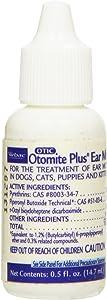 Otomite Plus Ear Mite Treatment, 0.5-Ounce