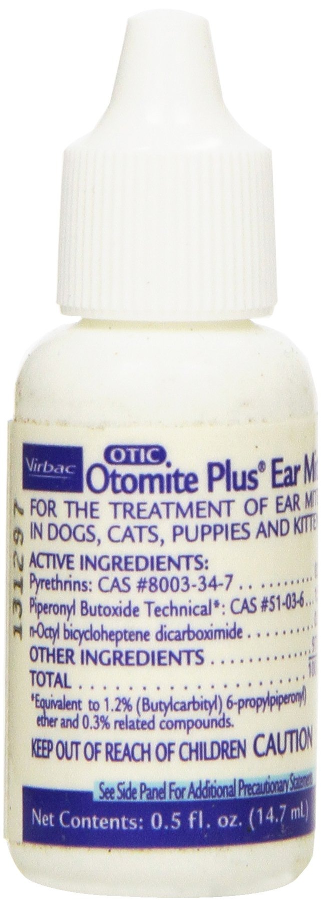 Otomite Plus Ear Mite Treatment, 0.5-Ounce by Virbac