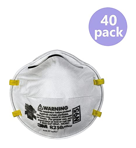 in N95 amp; Kitchen Plus Home 8210 40-pack 3m Respirators Amazon Dust