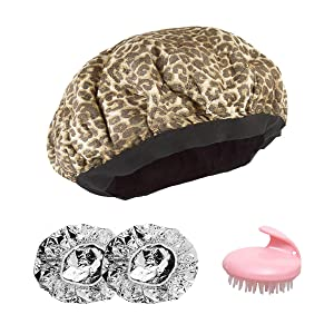Cordless Deep Conditioning Heat Cap - Treatment Steam Cap, Thermal Therapy, Haircare Hair Spa Cap