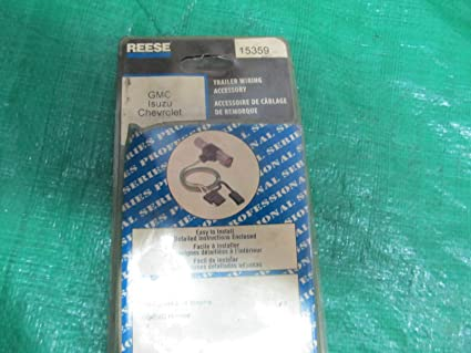 Amazon.com: Reese 15359 Trailer Hook-UP Wiring Harness Hitch ... on