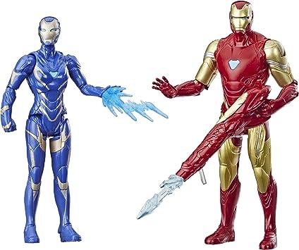 Avengers Marvel Endgame Iron Man & Marvels Rescue Figure 2 Pack ...