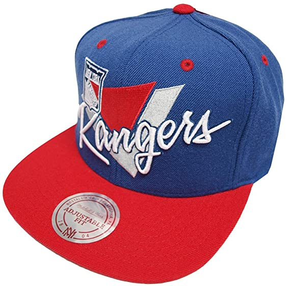 96077cef553b4 Image Unavailable. Image not available for. Color  Mitchell   Ness New York  Rangers Snapback ...