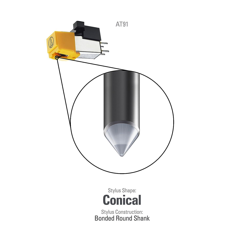 Amazon.com: Audio-Technica atn91 Reemplazo cónica lápiz ...