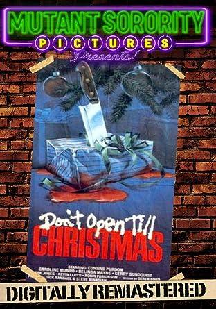 Dont Open Till Christmas.Amazon Com Don T Open Till Christmas Digitally Remastered