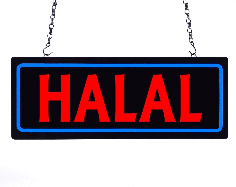 Halal LEDライトボックスSign B076X71PPY 23447