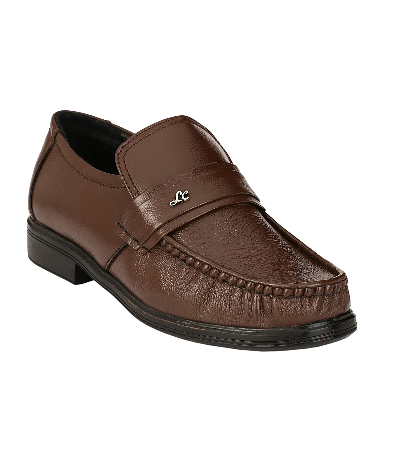 Buy ShoeDealsIn Brown Leather Shoes for