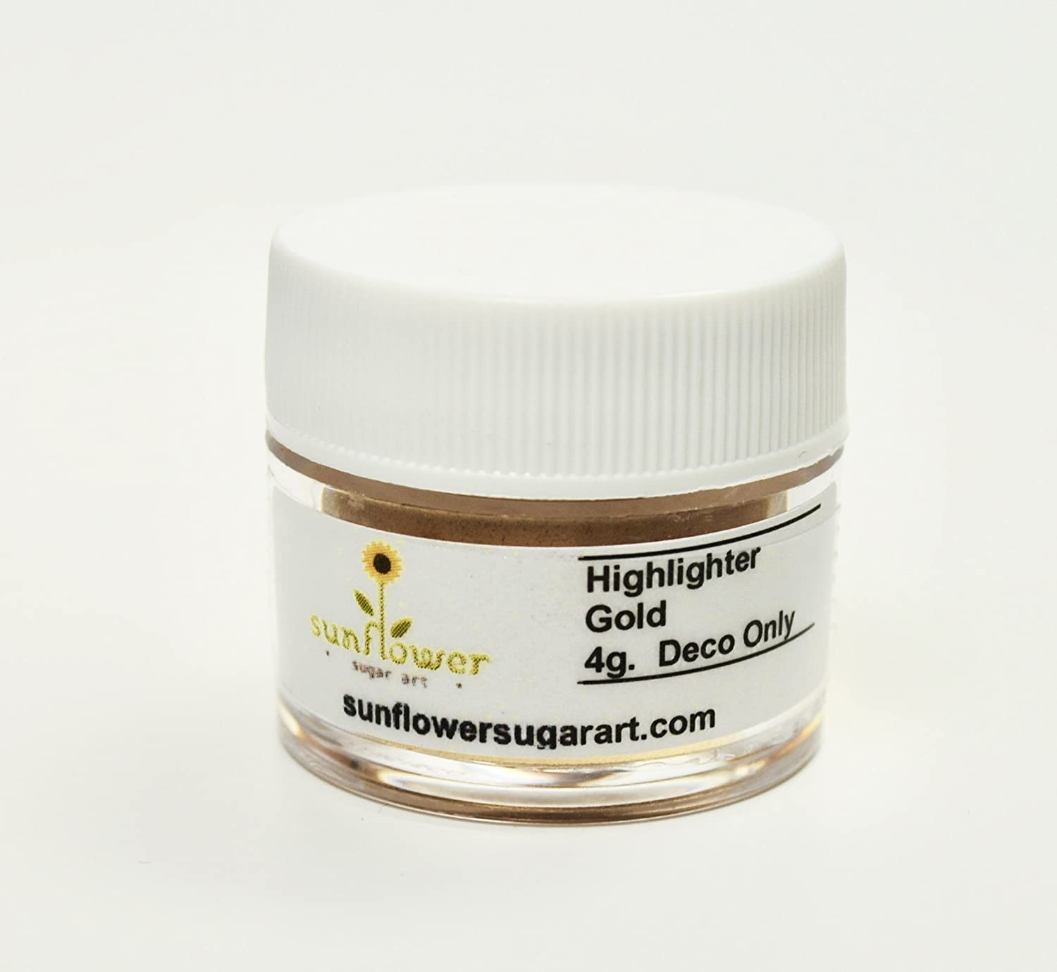 Amazon.com : Gold Highlighter Dust, 4 gram container : Grocery ...