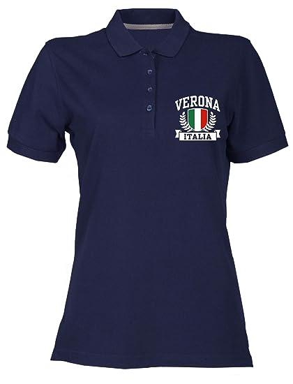 Speed Shirt Polo para Mujer Azul Navy TSTEM0128 Verona Italia ...