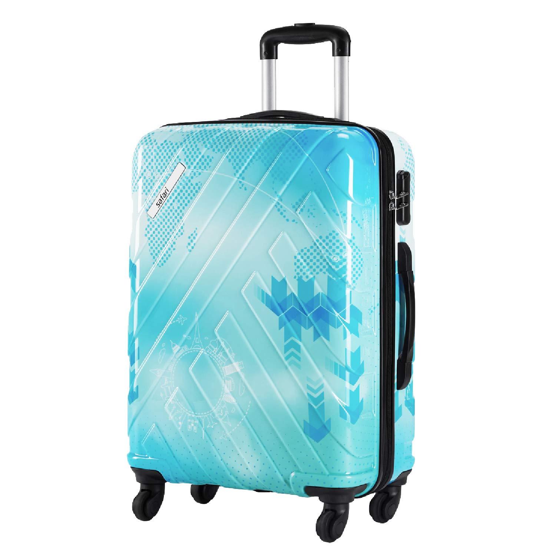 Safari Polycarbonate 67 cms Printed Hardsided Medium Luggage