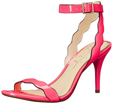 4daa7130d3 Amazon.com | Jessica Simpson Women's Morena Dress Sandal | Heeled ...