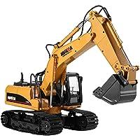 cooshional Excavadora Juguete Control Remoto 15 Canales Tractor