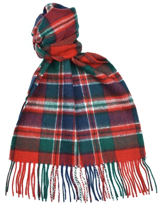 Amazon.com: Lambswool Scottish Clan Scarf Macfarlane Modern Tartan ...