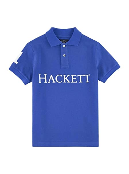 Polo Hackett HKT Solid Azul 13 14 Azul: Amazon.es: Ropa y accesorios