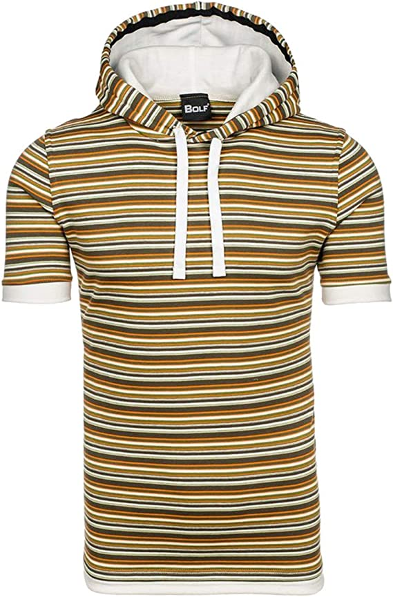 Camiseta para Hombre Omingkog con Capucha Estampada, línea ...