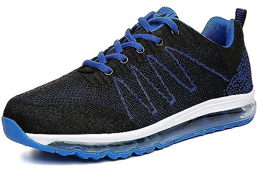 ASHION Laufschuhe Herren Turnschuhe Straßenlaufschuhe Sneaker Damen Air Leicht Walkingschuhe Running Sportschuhe