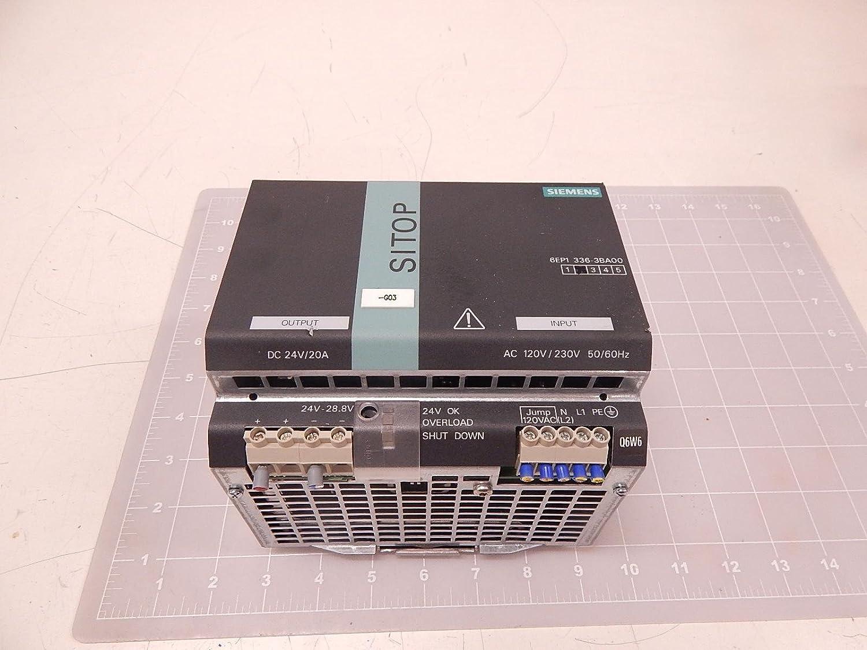 Siemens - Fuente alimentación sitopiii 24vdc/20a