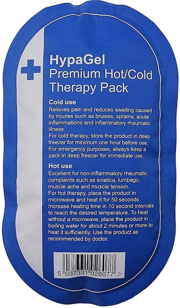 HypaGel Premium reutilizable caliente y frío Pack – Microondas: Amazon.es: Salud y cuidado personal