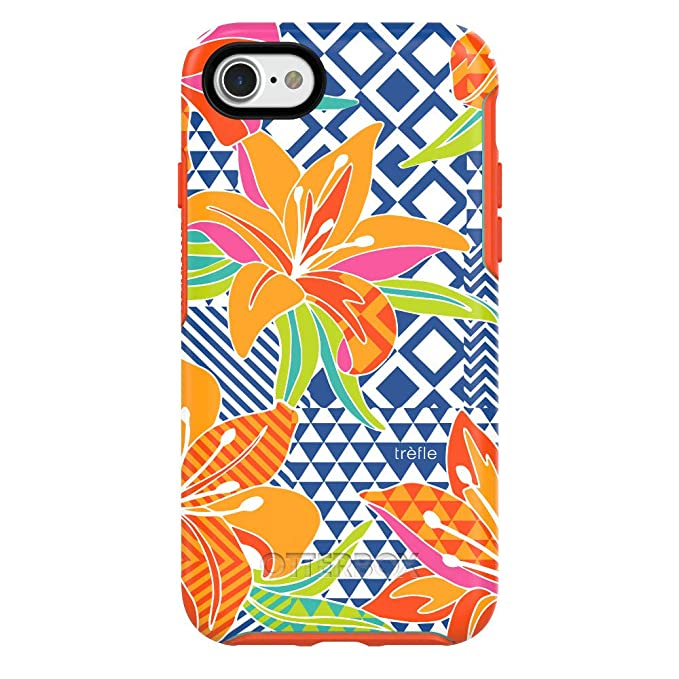 size 40 bd5a5 f1c3f OtterBox SYMMETRY SERIES Case for iPhone 8 / 7- Caribbean Hues - New