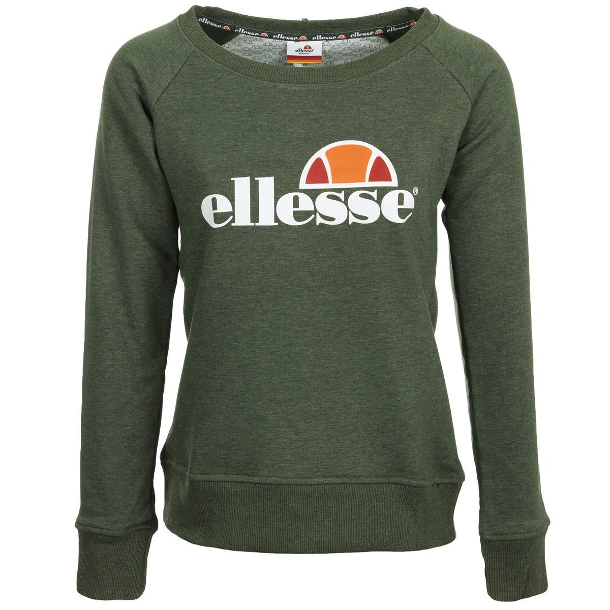 Ellesse WN's SWS Col Rond Kaki, Sweatshirt