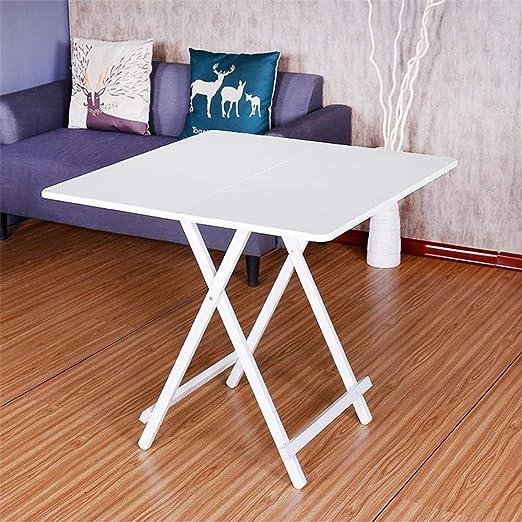 ZCCGRASS Mesa Plegable Moderna Simple Comedor Sala de Estar Mesa ...