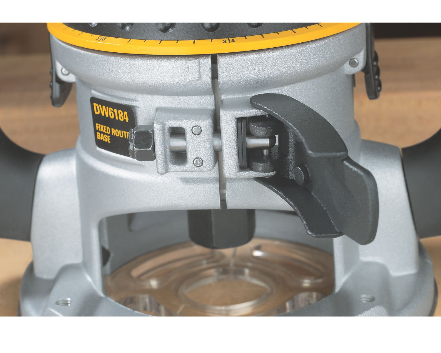 DEWALT DW618 2-1/4 HP Electronic Variable-Speed Fixed-Base Router by DEWALT (Image #5)