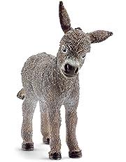 Schleich-13746 Borriquillo Color gris (13746