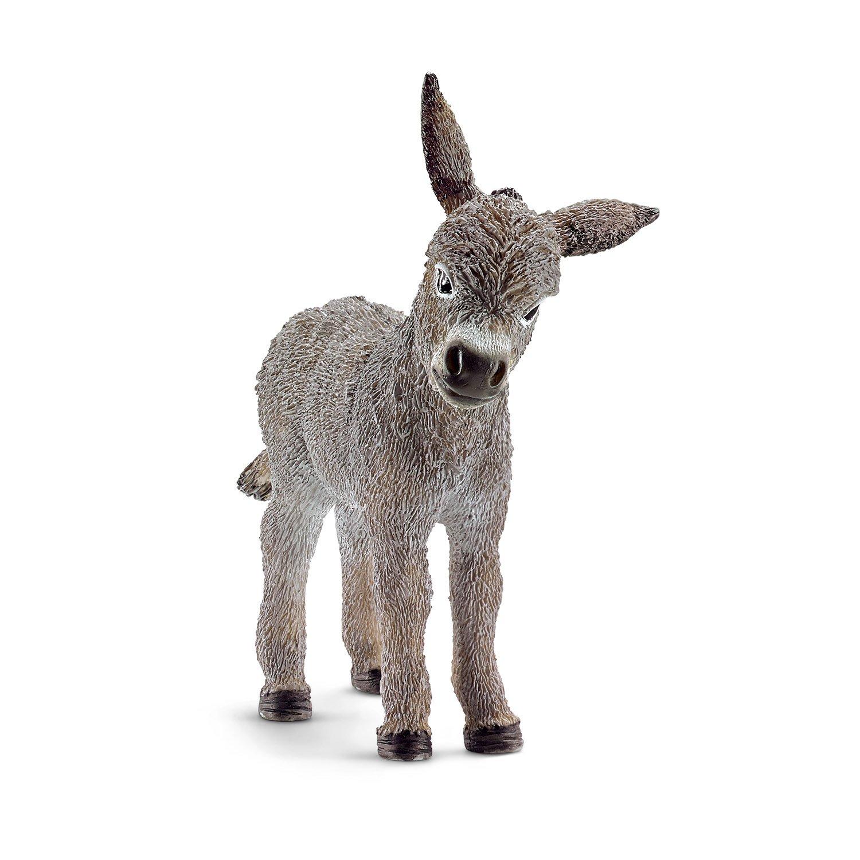 Schleich Donkey Foal Toy Figure Schleich North America 13746