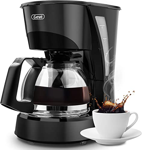 Coffee Maker 4 cup,Gevi Small Drip Coffee Maker