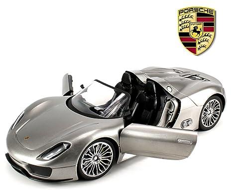 Amazon Com Licensed Porsche 918 Spyder Remote Control Rc Car Big 1