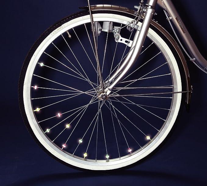 36 perlas reflectantes para radios ruedas bicicleta (judías rígida ...