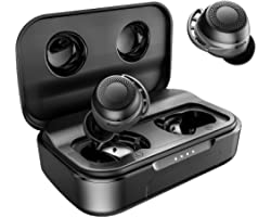 Wireless Earbuds Bluetooth, AMINY U-Air6 Sport Bluetooth Earphones IPX8 Waterproof Inear Bluetooth Earbuds Wireless Headphone