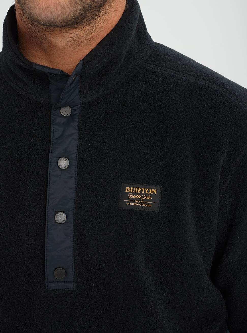 Burton Herren Hearth Fleece Pullover True Black