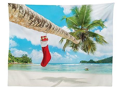 Decorazioni Sala Natale : Vipsung tovaglia decorazioni di natale calzino della palma sulla
